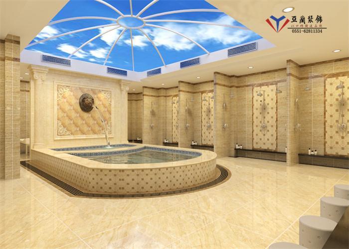 休闲会所空间作品                      装修设计在等着你,合肥浴场