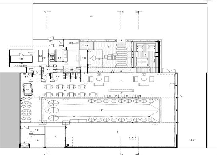 cora酒吧烧烤店装修设计图